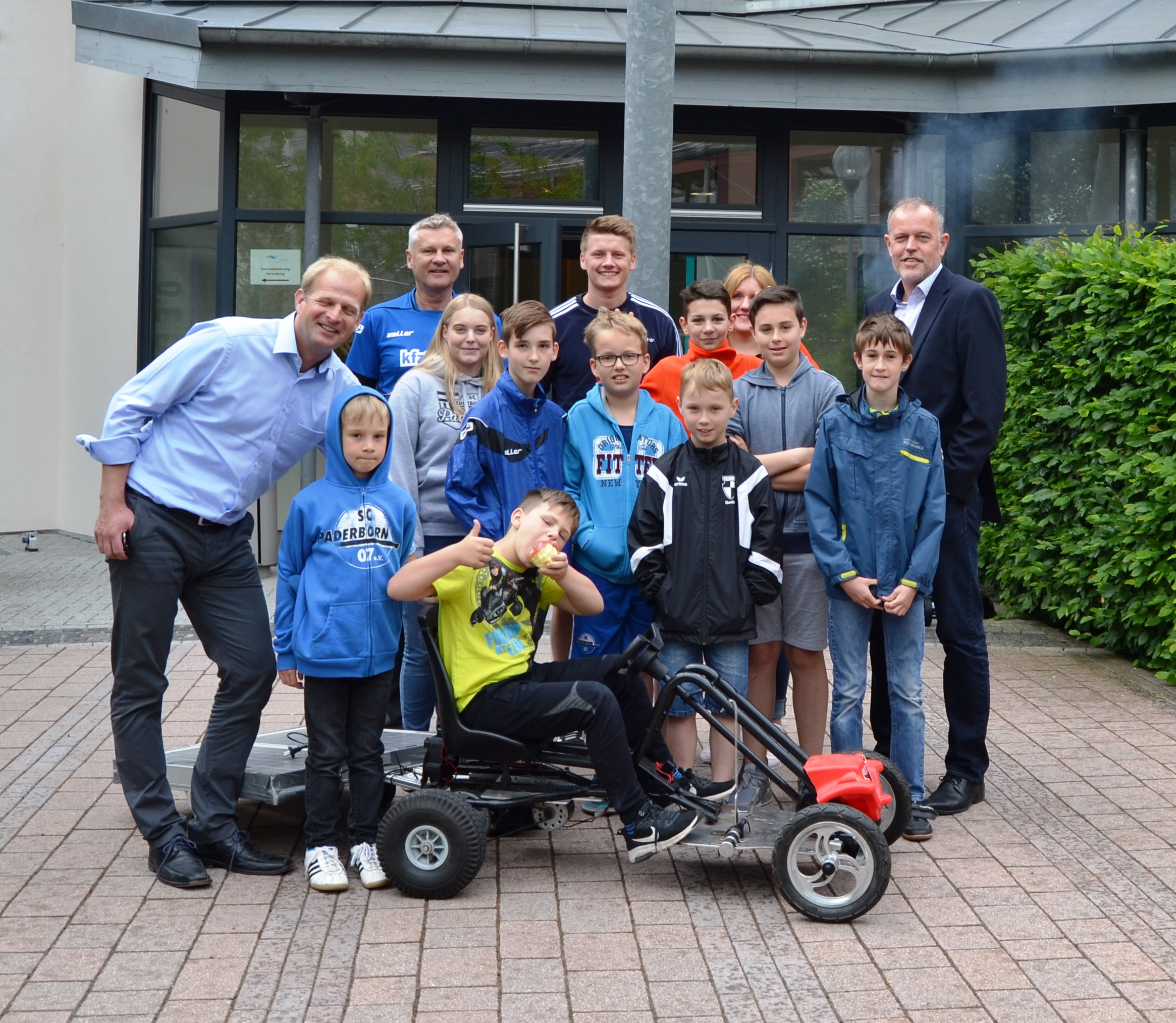 SCP KIDS Club in Lichtenau auf den Spuren der erneuerbaren Energien