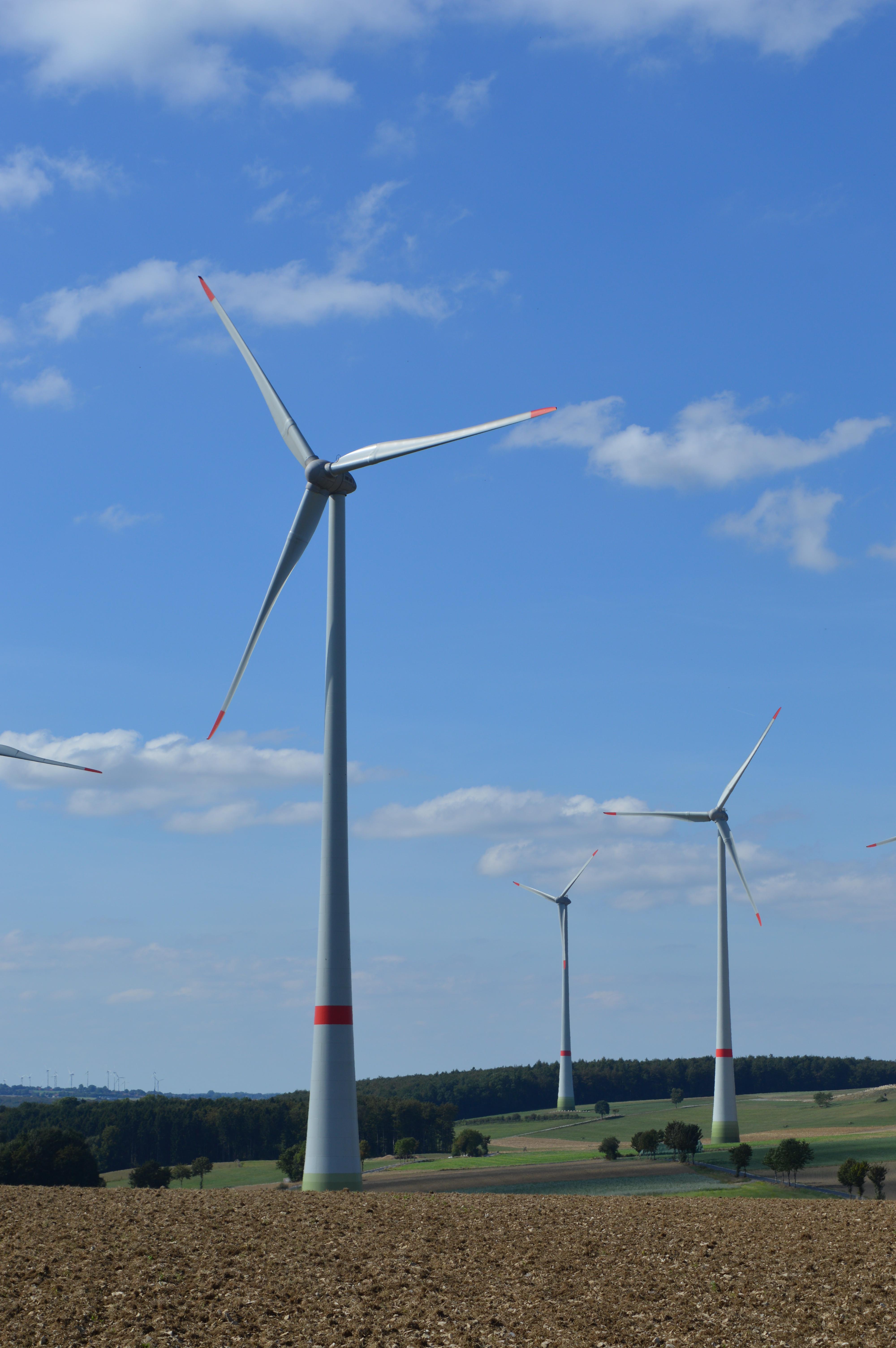 Reduzierung der Beleuchtung der Windkraftanlagen